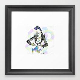 Janelle Monae Framed Art Print