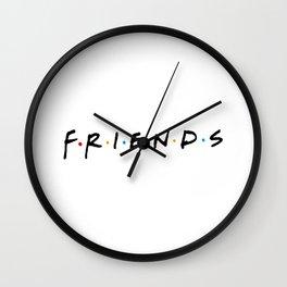 Stranger Thing Friends Wall Clock