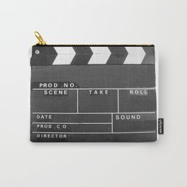 Film Movie Video production Clapper board Carry-All Pouch