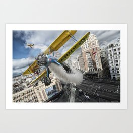 Street Air Race Art Print