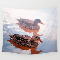 duck Wall Tapestries featuring Duck by DistinctyDesign