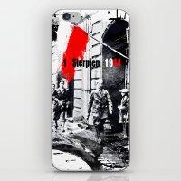 poland iPhone & iPod Skins featuring Warsaw Uprising, Poland - 1944 by viva la revolucion