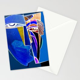 Metaphysical Head Stationery Cards