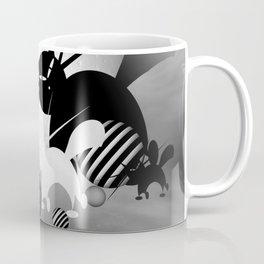 dreaming of mooncats bw -4- Coffee Mug