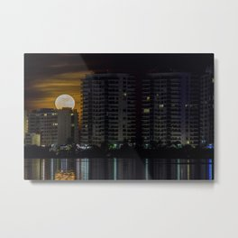 Super full moon Metal Print