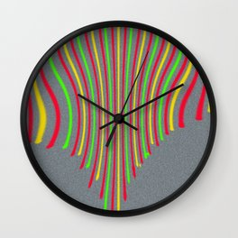 lines of life Wall Clock