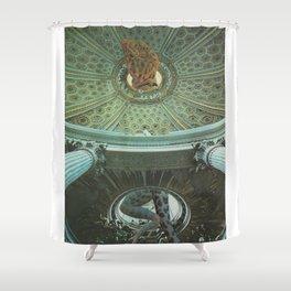 Reptilia Lemuria Shower Curtain