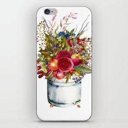 Woodland Bouquet iPhone Skin