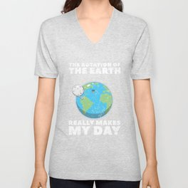 Earth Make My Day Unisex V-Neck