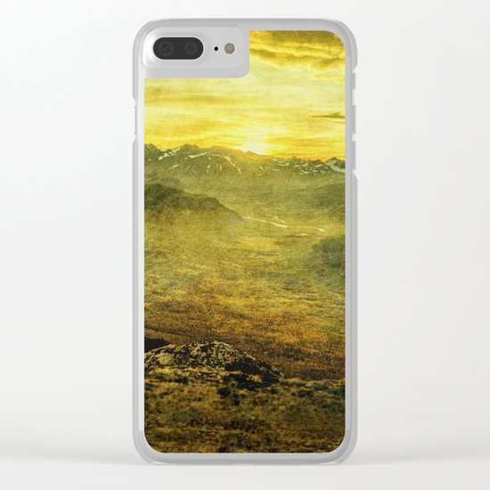 Nature's Sigh Clear iPhone Case
