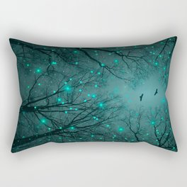One by One, the Infinite Stars Blossomed Rectangular Pillow