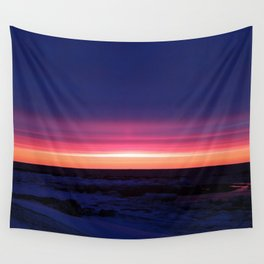 Sublime Seaside Sunset Wall Tapestry