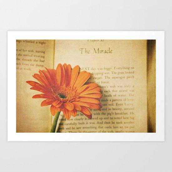 The Miracle Art Print