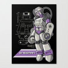 SNES Man Canvas Print