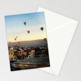 Cappadocian Hot Air Balloons 2 Stationery Cards