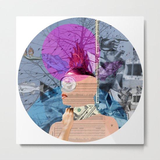 A dream for a lifetime · Marianna 2+ · Crop Circle Metal Print