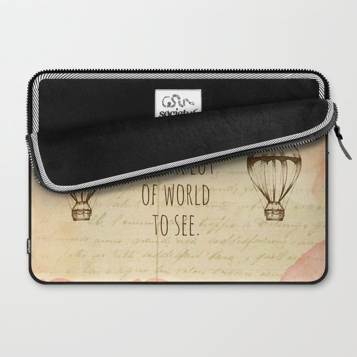 There's Such A Lot Of World To See Laptop Sleeve