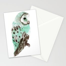 Watercolour Owl Stationery Cards