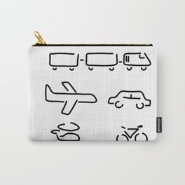 turn mobility travel Carry-All Pouch