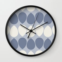 Wilma in Iris and Ivory Wall Clock