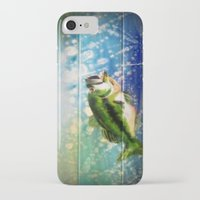 bass iPhone & iPod Cases featuring Bass by Christina Miller