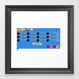To Remind You of My Love Framed Art Print