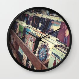 The Record Store (An Instagram Series) Wall Clock