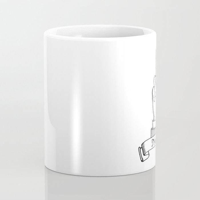 The finger - Touché Coffee Mug