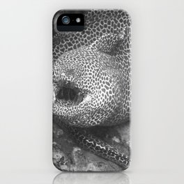 Coiled fat eel iPhone Case