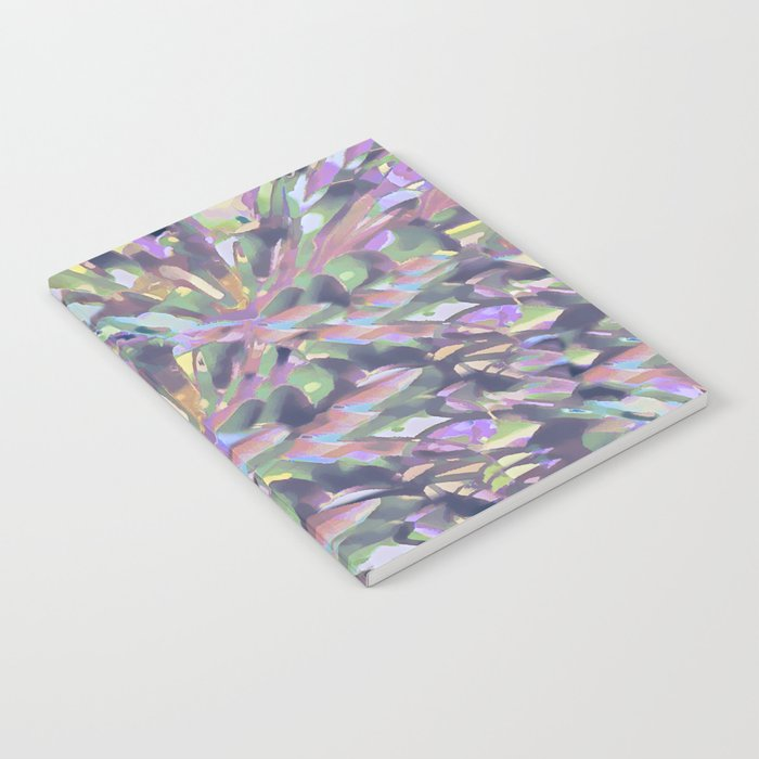 Soft Pastel Garden Abstract  Notebook
