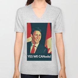 Yes We Canada! Unisex V-Neck