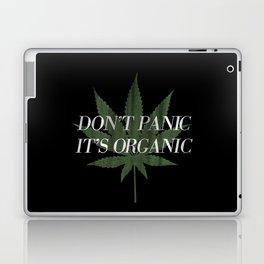 Don't Panic it's Organic Vintage Potleaf Print Laptop & iPad Skin
