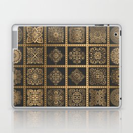 Copper Mandala Quilt Laptop & iPad Skin