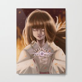 Into the Netherworld with the Jewel Metal Print