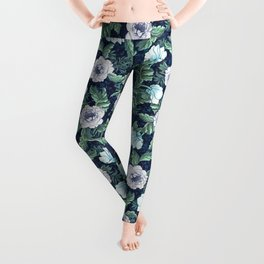 Winter garden Leggings
