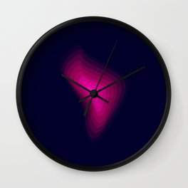 Ultra pink Wall Clock