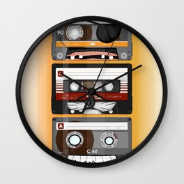 The cassette tape Wall Clock