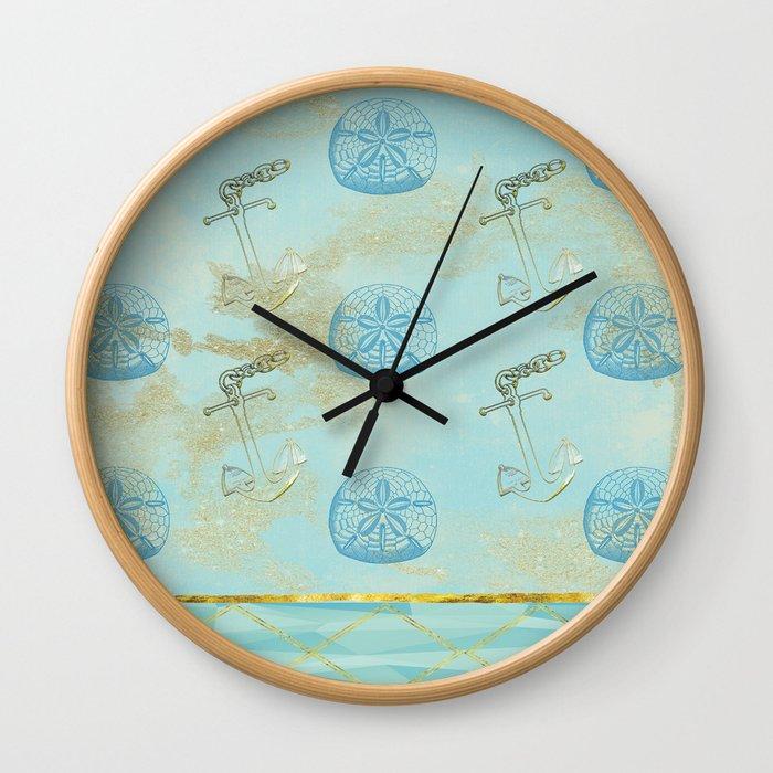 Beach Design Wall Clock