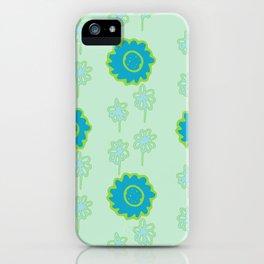 Handbag Heaven Blues - details iPhone Case