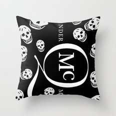 God Save ALEXANDER McQueen Throw Pillow