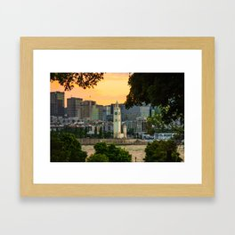 Montreal old p Framed Art Print