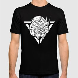 Gundam NU RX93 White T-shirt