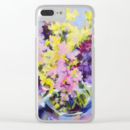 Beautiful Bouquet Clear iPhone Case