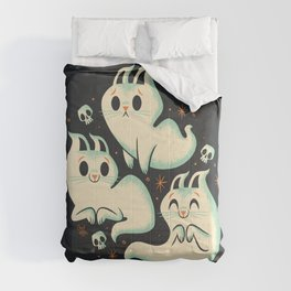 Ghost Cats Comforters