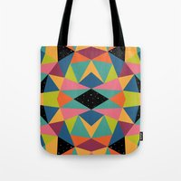 kaleidoscope Tote Bags featuring Kaleidoscope by Andy Westface
