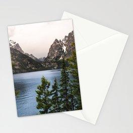 Grand Teton Wanderlust Lake Adventure - Nature Photography Stationery Cards