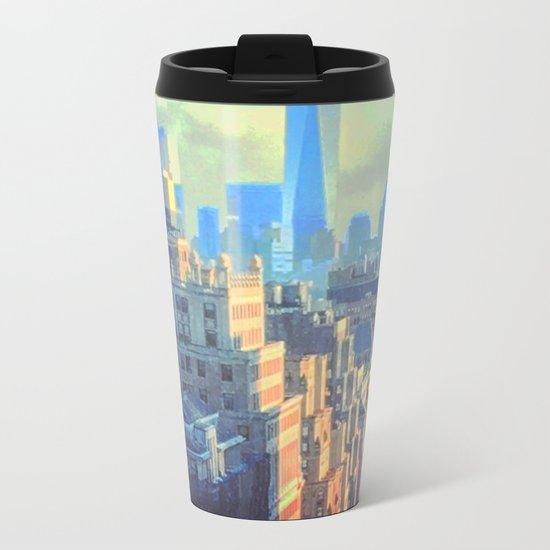 The Free Life Metal Travel Mug