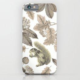 SQUIRREL IN THE PARK iPhone Case