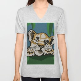 Tiger Paradise Unisex V-Neck