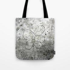 Sidewalk Flower Tote Bag